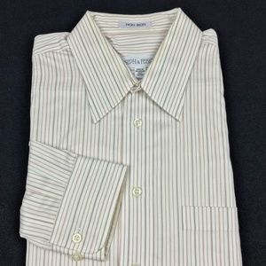 Joseph & Feiss Non Iron Striped Shirt 16 - 32/33